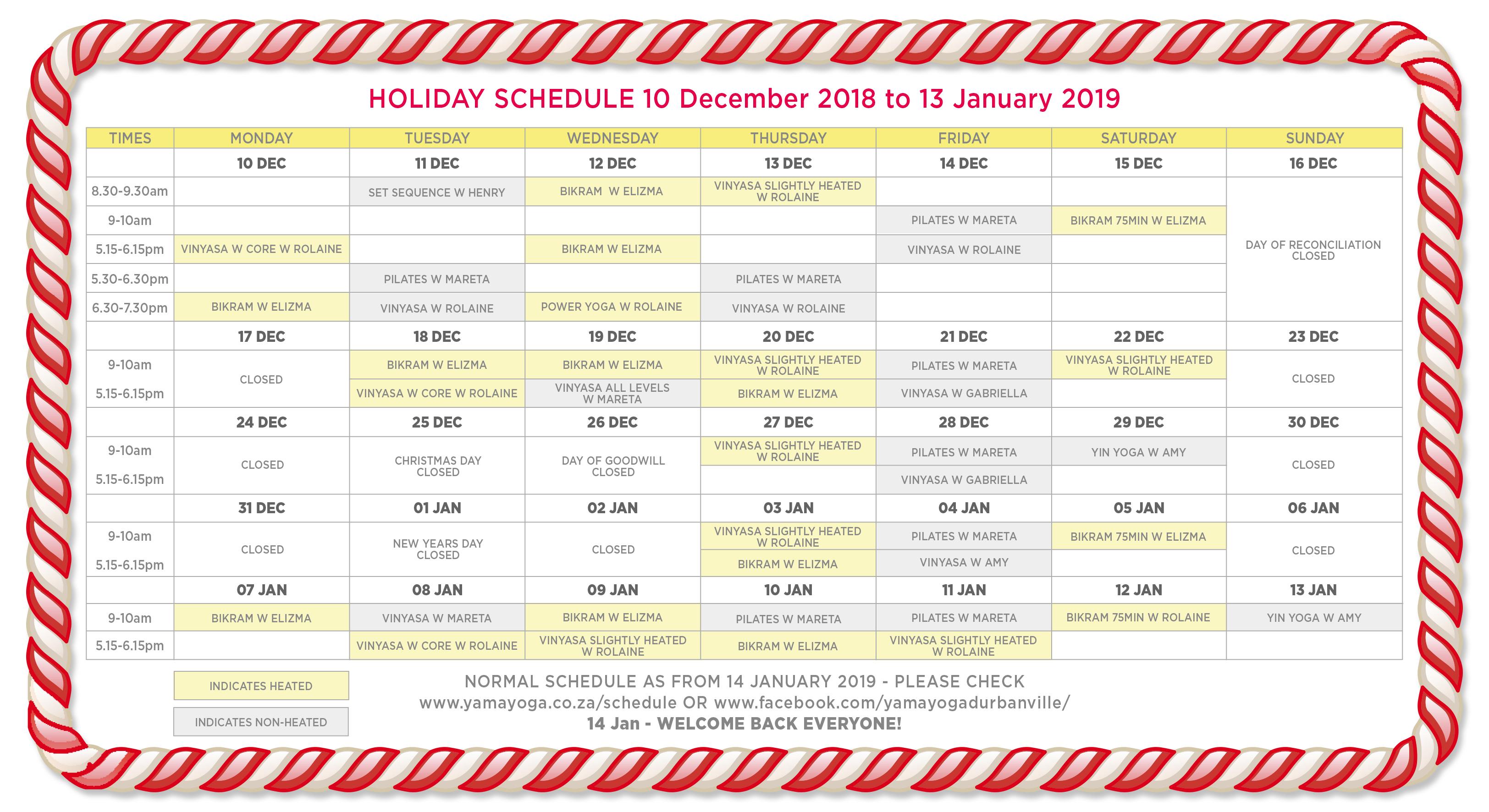 yama-yoga-holiday-schedule-2018